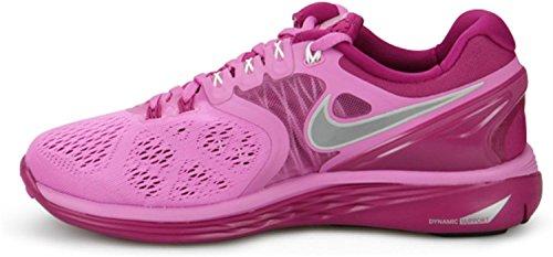 Nike LunarEclipse 4 Rd Vlt / rflct Slvr / brght Gestión emisoras / s running 6 con nosotros rosa - rosa