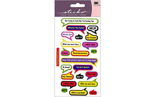 Sticko Stickers-Bubble Captions
