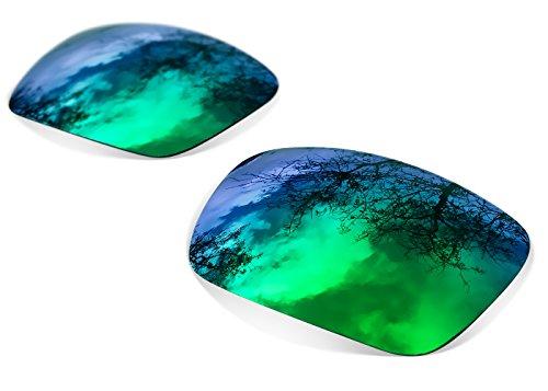 restorer Oakley Gascan para sapphire green Iridium Recambio Lentes Polarizadas Fire sunglasses de 71B8OBp