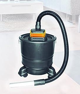 Aspirador de cenizas Maxlor con ruedas, 18 litros, 1000W