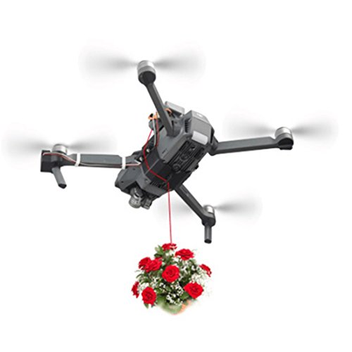 HMANE Payload Delivery Drop Kit Release Fishing Bait/Wedding Proposal/Gifts Device for DJI Mavic - (Grey) by HMANE