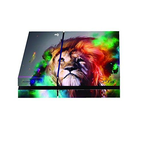 Premium Designer Playstation 4 Skin Cosmic Lion