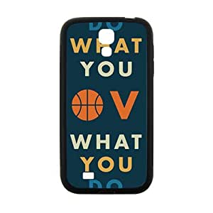 QQQO Obey your heart motto Cell Phone Case for Samsung Galaxy S4 Kimberly Kurzendoerfer