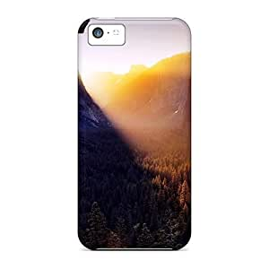 Hot JRBxZXo3136CLvCV Sun Shining Through Canyon Tpu Case Cover Compatible With Iphone 5c