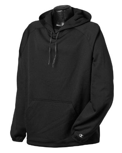 Amazon.com: Champion Men's Raglan Bonded Performance Fleece Hood ...