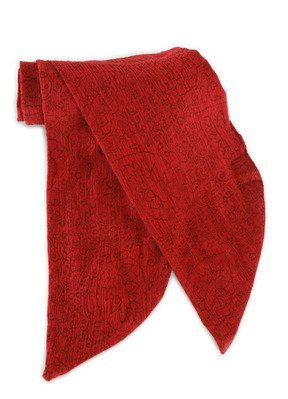 elope Jack Sparrow Scarf, Red, One Size
