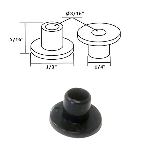 Shower Nylon (Shower Door Nylon Bushing for Framed Pivot Shower Doors)