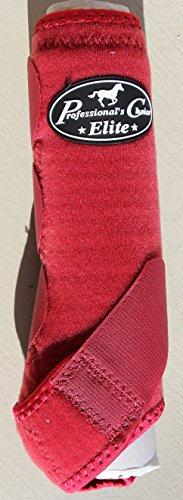Professional's Choice ♦ VENTECH Elite Equine Sports Medicine Boots Set of 4 Colors (Crimson Red, Medium) by Professional's Choice (Image #3)