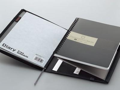 コクヨ カバーノート システミック ノート2冊収納 リングノート対応 黒 B5用 ペン・小物収納ポケット付 ノ-683B-D