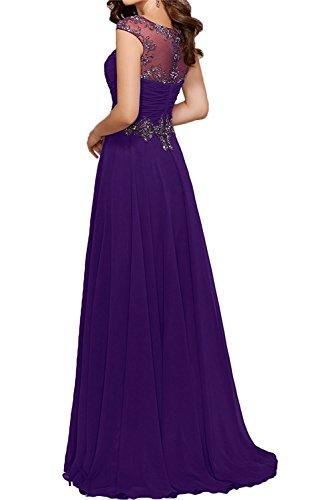 Damen Braut Wassermelon Perlen La Elegant Abendkleider mia Lang Fesltichkleider Abschlussballkleider Rosa Ballkleider Partykleider xFwZ6qAZC