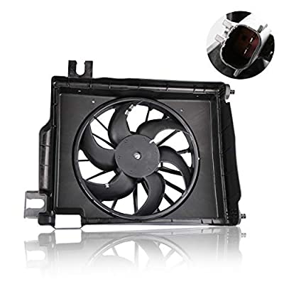MOSTPLUS AC Condenser Cooling Fan Assembly for Dodge Ram 1500 2500 3500 Pickup CH3113103: Automotive