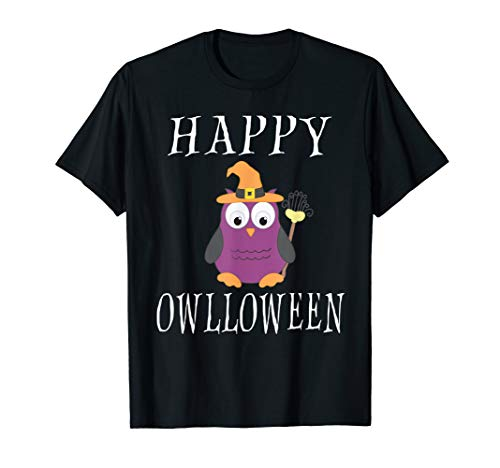 Happy Halloween Quotes For Kids (Happy Owlloween Funny Owl Witch Quotes Dress)