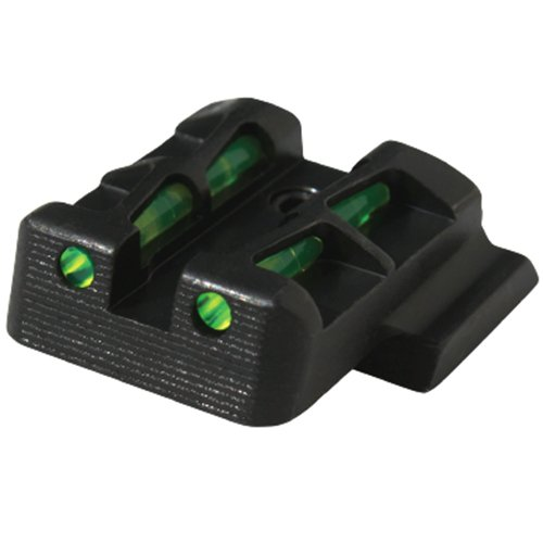 - HIVIZ MPSLW11 Interchangeable LITEWAVE Rear Handgun Sight for Smith & Wesson/M&P Shield in 9mm/.40 S&W Caliber