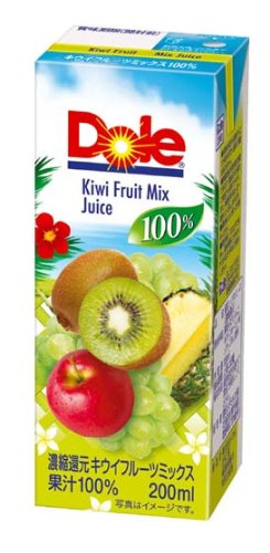 Dole kiwi fruit mix 100% 200mlX18 this by Dole
