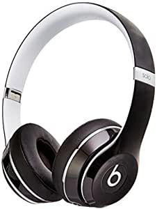 Beats By Dre Solo 2 Luxe Edition On-Ear Headphones   Black (WIRED,  Not Wireless)