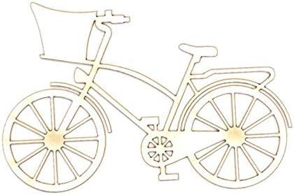 Dayka Trade Silueta en carton fino y flexible, Bicicleta Romantica ...