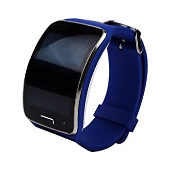 TenCloud Band Compatible with Galaxy Gear S R750 Smartwatch (Blue)