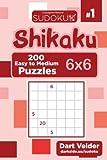 Sudoku Shikaku - 200 Easy to Medium Puzzles 6x6