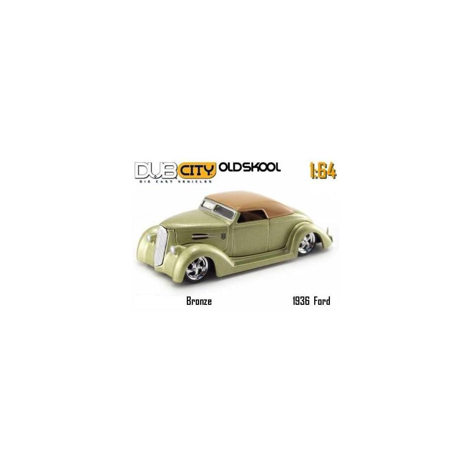 Jada Dub City Oldskool Bronze 1936 Ford 164 Scale Die Cast Car