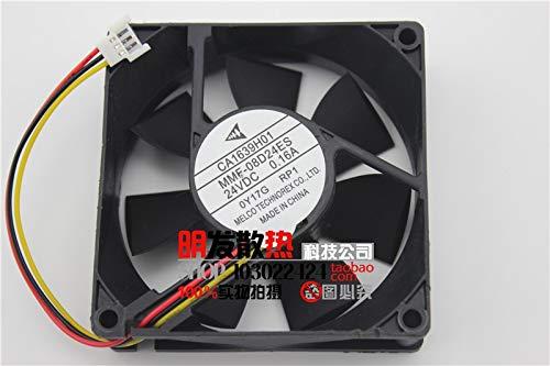 REFIT New Fan MMF-08D24ES-RP1 24V 0.16A CA1639H01 spot