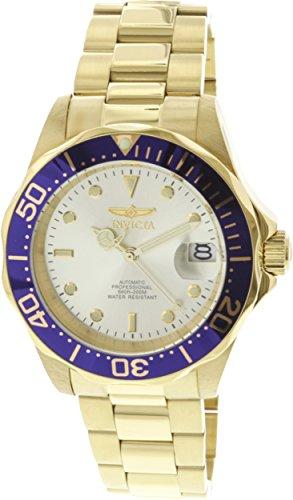 Invicta Men's 9743 Pro Diver Automatic 3 Hand Champagne Dial Watch ()
