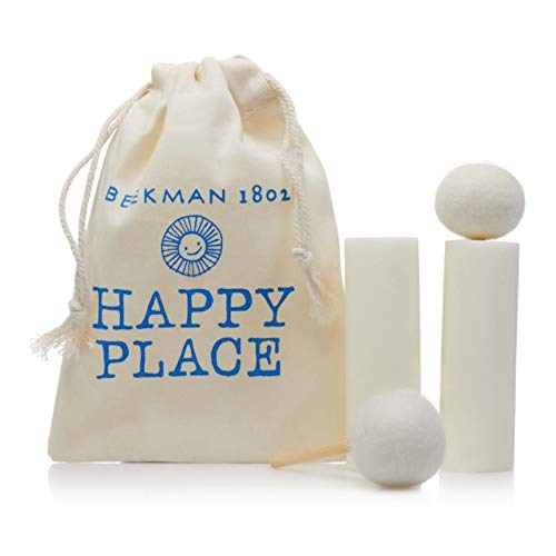 Beekman 1802 Happy Place Goat Milk Soap Stain Stick with Wool Wand 2-Pack