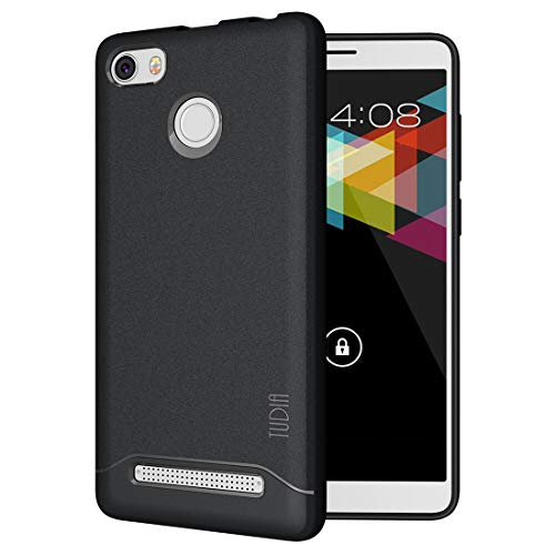 Nuu Mobile G1 Case, TUDIA [Arch] Shock Absorption Drop-Proof Lightweight Scratch Resistant TPU Bumper Protection Cover for Nuu Mobile G1 (Black)