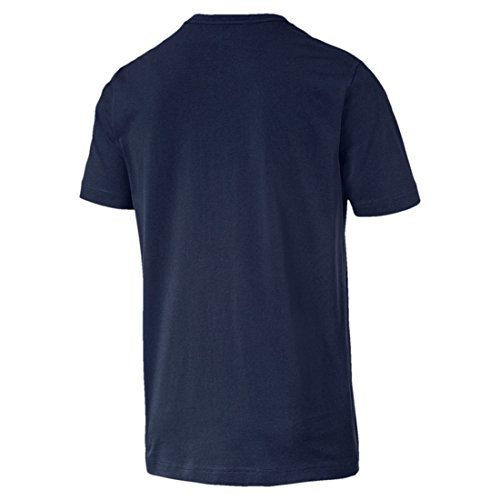 Essentials Bleu Puma shirt Homme Marine Tee Blanc dw6IqgUx
