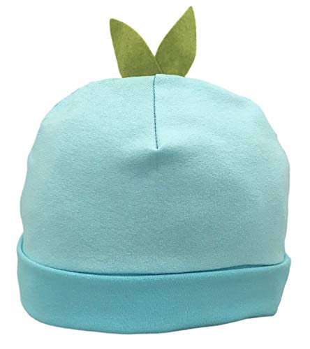 Flipside Hats Kids Eco Recycled Soft Cotton Sprout Beanie - Infant Unisex Fruit Cap (Blueberry)