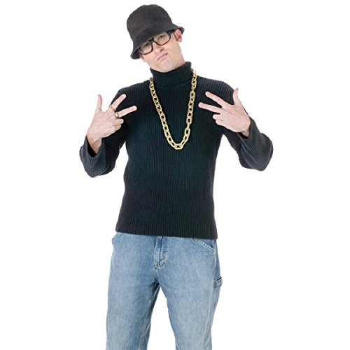 (Fun World Men's Old School Rapper Kit, Multi)