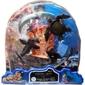 Amazon Com Planet Earth Ocean Animals Figurine Play Set