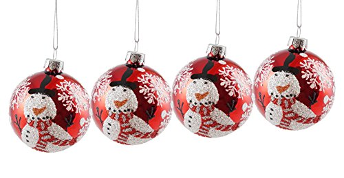 4 Pack Ornament Set - 8