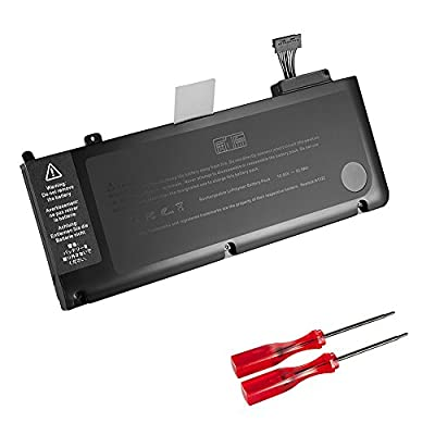 GWY-TECH New Laptop battery for Apple Macbook Pro 13 inch A1322 A1278 [Mid 2009, Mid 2010, Early/Late 2011, Mid 2012] MB990LL/A MB991LL/A MC374LL/A MC375LL/A MC700LL/A MD314LL/A [10.95V 63.5Wh] by GWY-TECH