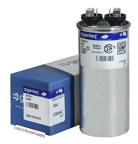 35 uf round capacitor 370 vac - 3