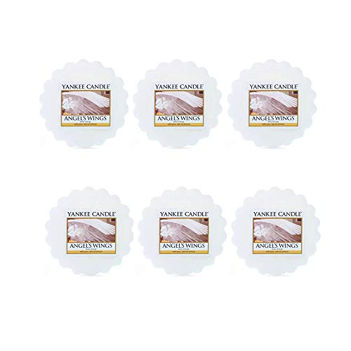 Angel Candle Wing (Yankee Candle Lot of 6 Angel's Wings Tarts Wax Melts)