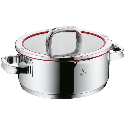 WMF Function 4 Low Casserole with Lid, 4-Quart by WMF