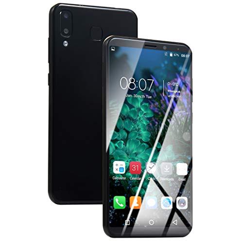 Matoen 6.1Inch Ultra Android 6.0 Large Screen Quad-Core 1GB+8GB+Extra 16GB Memory Card DualSIM Smart Standard European Cellphone (Black) ()