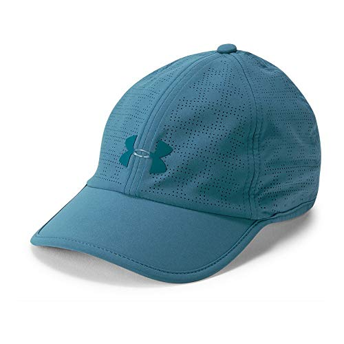 Under Armour Women's Driver 2.0 Cap, Static Blue (414)/Static Blue, One Size