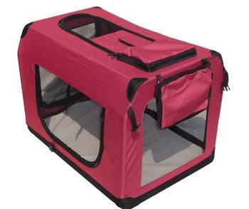 BestPet 30″ Maroon Pet House Soft Crate Carrie Review