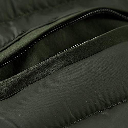 Pervobs Men's Softshell Lined Pocket Hooded Coat Jacket Outerwear
