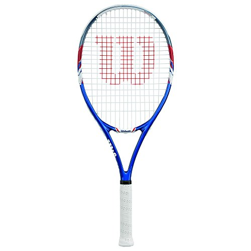 g Tennis Racquet, 4 1/4-Inch, Blue/Gray ()