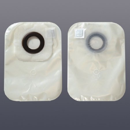 (Hollister 3325 Karaya 5 Closed Pouch with Porous Paper Tape - Stoma Size: 2