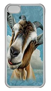TYHde Goat Head Custom iPhone 6 4.7 Case Cover Polycarbonate Transparent ending