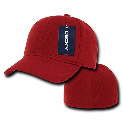 Rojo Size para Color Decky Fitted Talla Gorra 21 Hombre w0RqUXq