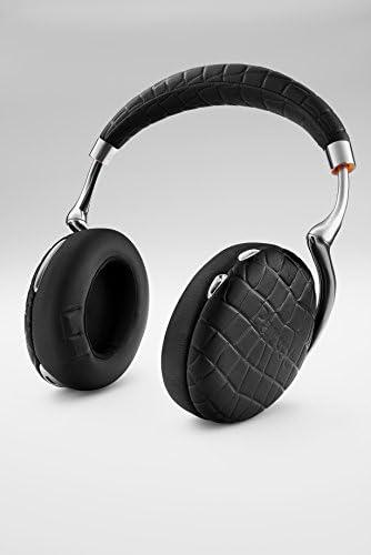 Parrot Zik 3 by Starck Casque audio Bluetooth, chargeur à induction inclus Noir Croco