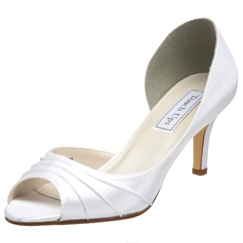 Touch Ups Women's Nadia Pump,White,7.5 W (Womens Dyeable Wedding Shoes)