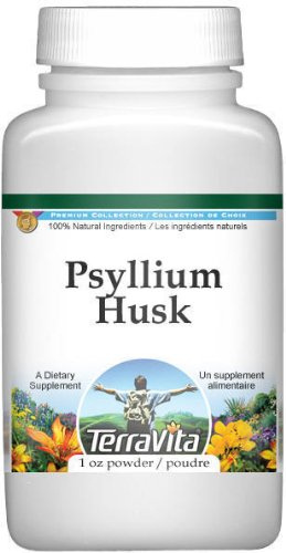 Psyllium Husk (Fiber) Powder (1 oz, ZIN: 511410) – 2 Pack