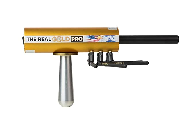Amazon.com : GOLD AKS PRO Long Range Precious Metal Detector - Authentic Gold, Silver, Copper, and Stone Underground Detection System - Discover Valuable ...