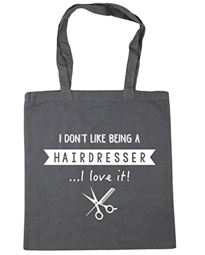 litres Bag I Love Graphite It Being 10 Don't Shopping Gym Beach Like A 42cm Grey Hairdresser x38cm I HippoWarehouse Tote TOq1x0w1