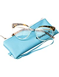 Ladies Oversized Cat Eye Reading Glass Modern Eyeglass Frame